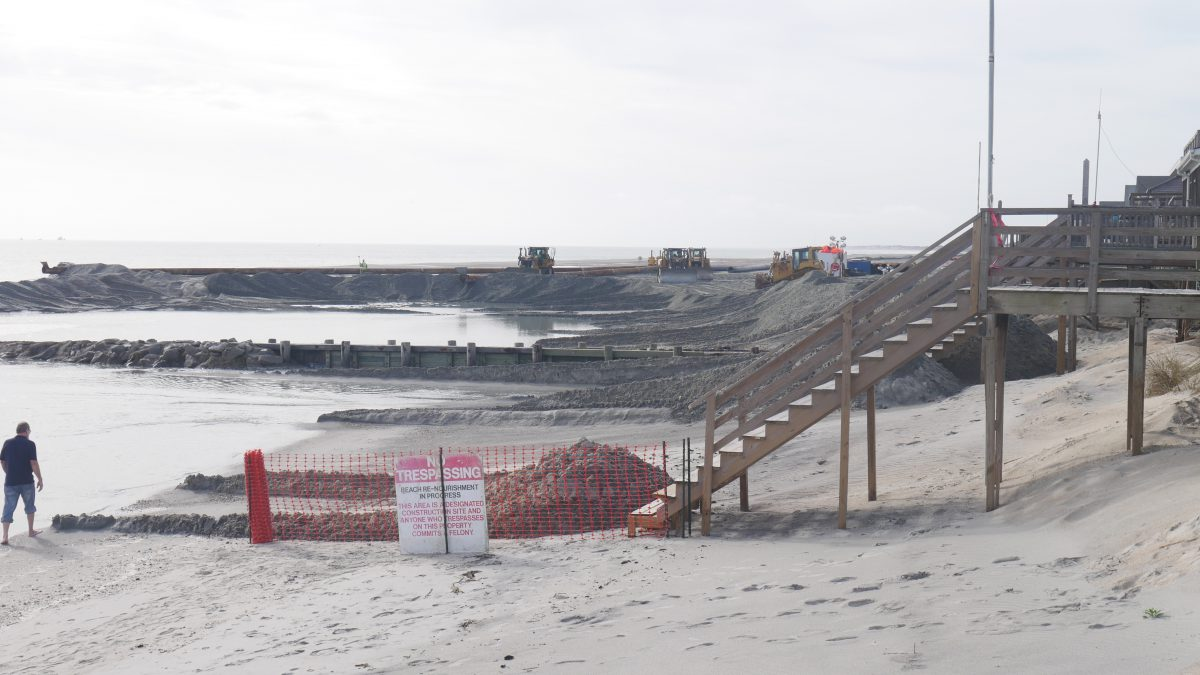 Beach Renourishment on Pawleys Island!